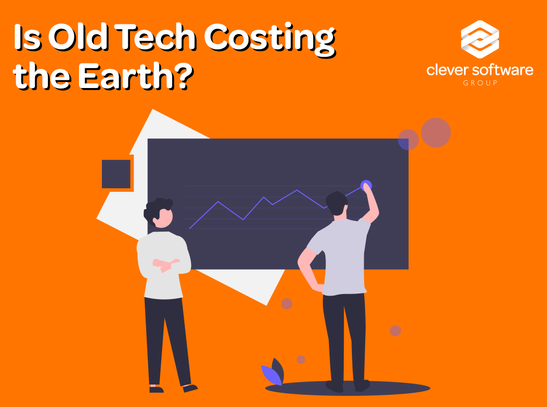 Outdated technology is costly