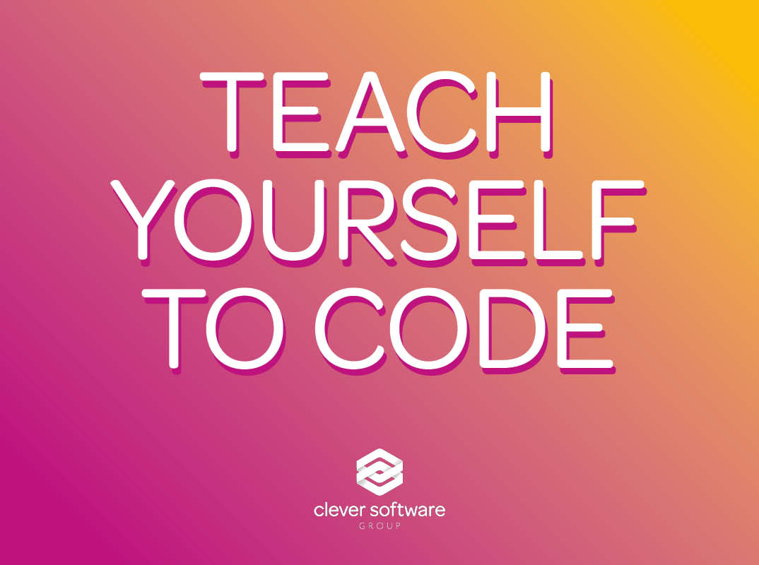 Teaching yourself to code