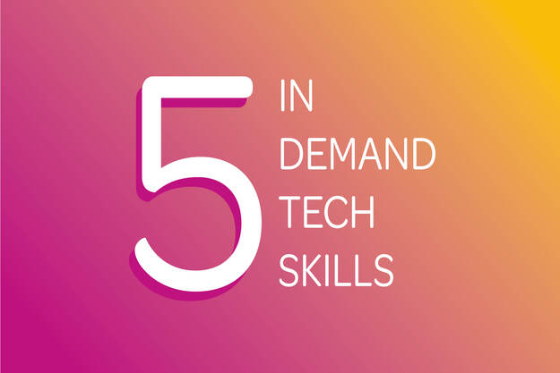 5 in demand tech skills